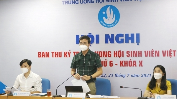 Sinh viên Việt Nam tiên phong, tương trợ, thích ứng với dịch Covid-19