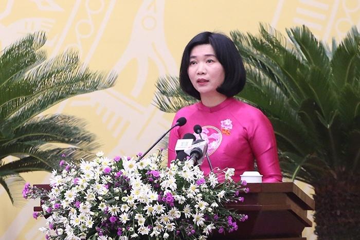Phó Chủ tịch Thường trực HĐND TP Hà Nội khóa XVI Phùng Thị Hồng Hà