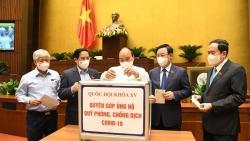 Văn phòng Quốc hội phát động cao điểm quyên góp ủng hộ Quỹ phòng, chống Covid-19