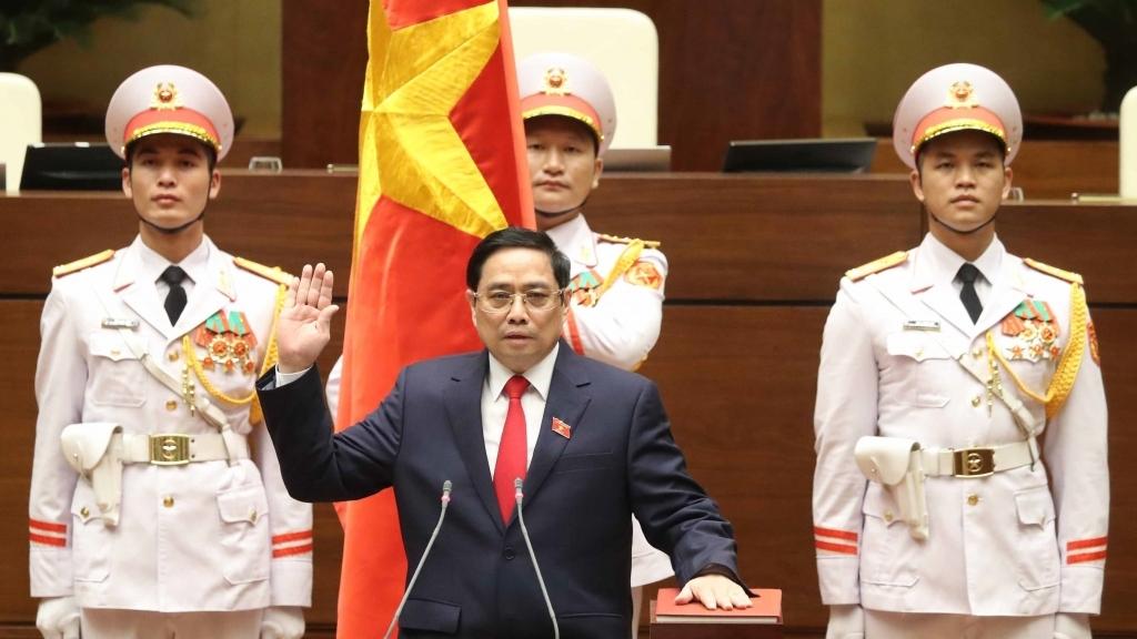 Đồng chí Phạm Minh Chính được bầu làm Thủ tướng Chính phủ nhiệm kỳ 2021-2026
