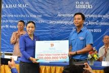 Khai mạc các hoạt động tình nguyện của Tuổi trẻ Thủ đô tại Lào