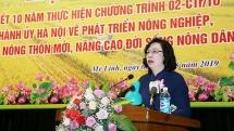 Mê Linh tập trung huy động mọi nguồn lực để xây dựng nông thôn mới