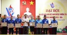 Anh Lê Đức Thọ tái đắc cử Chủ tịch Hội LHTN Việt Nam huyện Thường Tín