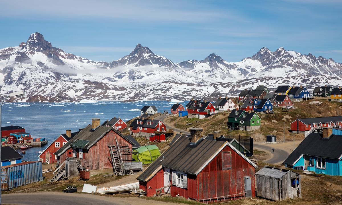 Greenland bác bỏ ý tưởng bán hòn đảo cho Mỹ