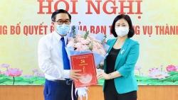 Hà Nội: Công bố, trao quyết định về công tác cán bộ tại Huyện ủy Mê Linh