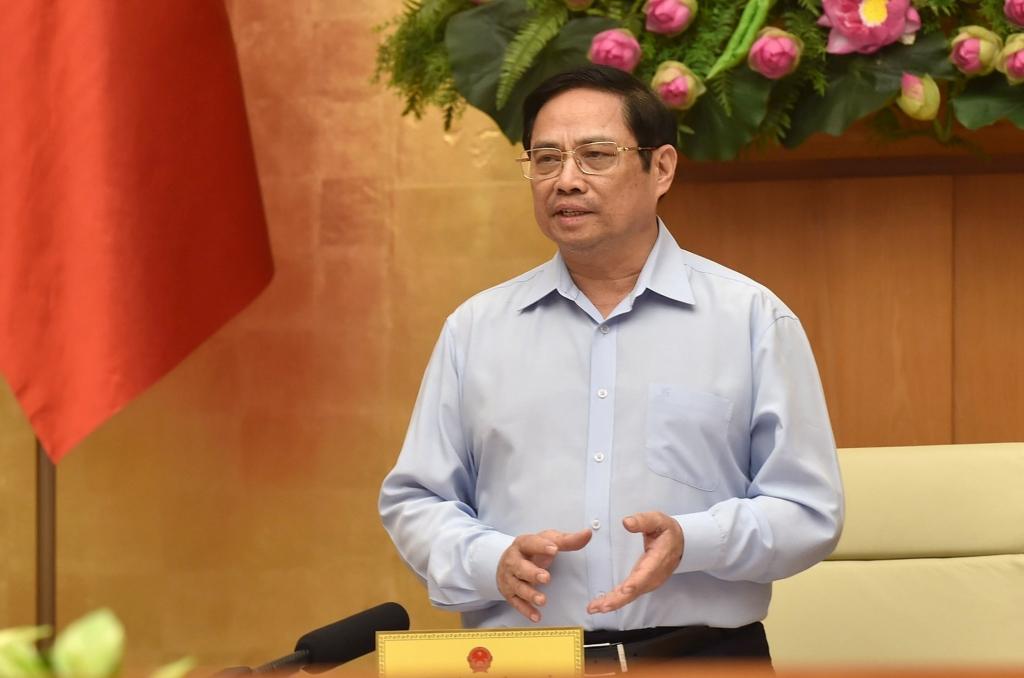 Thủ tướng Phạm Minh Chính phát biểu tại cuocj họp