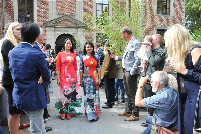 Sâu lắng Ngày Việt Nam tại Bỉ