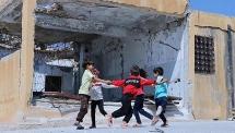 hang nghin tre em o syria co the khong duoc don nam hoc moi
