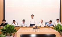 Chủ tịch UBND TP Hà Nội: Đơn giản thủ tục để giảm nhân công, tiết kiệm chi phí
