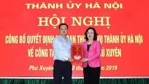 Đồng chí Lê Ngọc Anh giữ chức Bí thư Huyện ủy Phú Xuyên