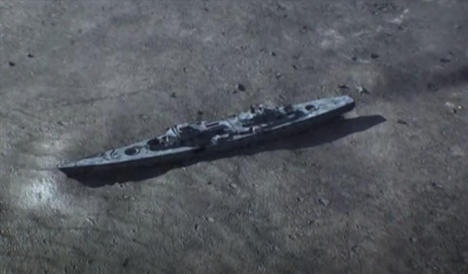 Phân tích cho thấy chính người Đức đã đánh đắm Bismarck. Ảnh: NAT GEO