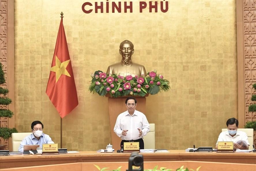 Thủ tướng Chính phủ Phạm Minh Chính. Ảnh Nhật Bắc