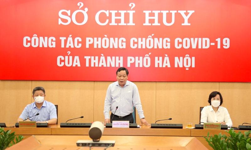 Phó Bí thư Thành ủy Nguyễn Văn Phong kết luận giao ban