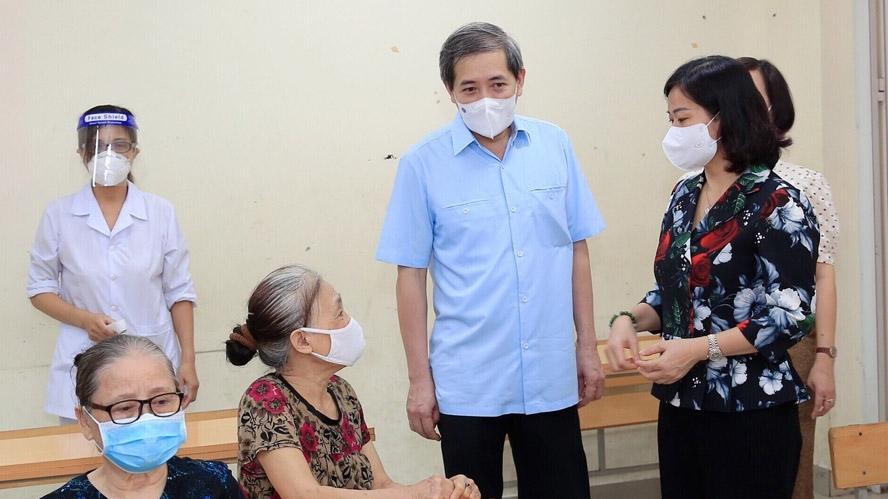 Tiếp tục rà soát các đối tượng, đảm bảo mọi người dân đều được tiếp cận vắc xin