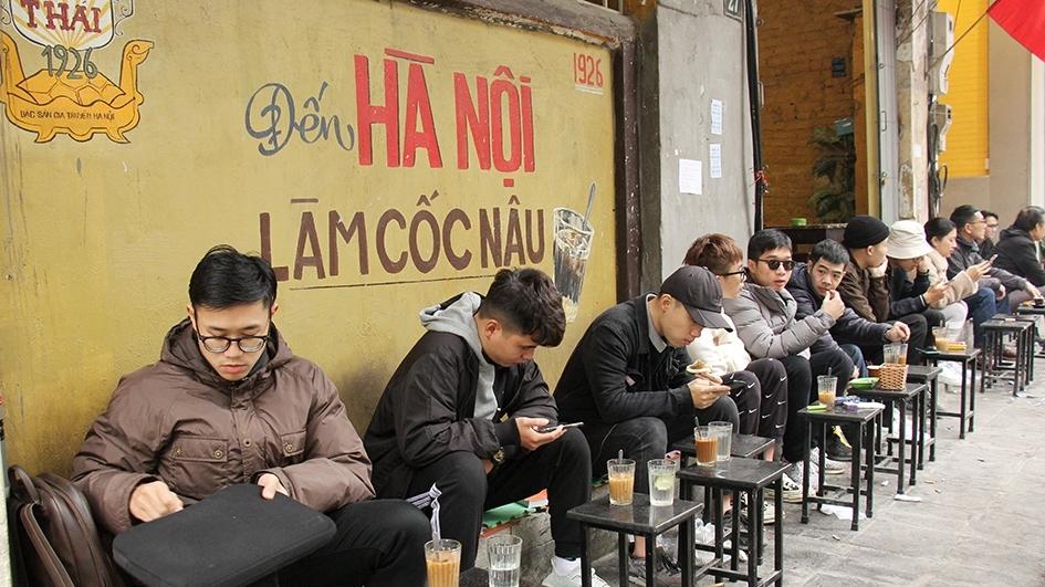 Đến Hà Nội làm cốc nâu... (Ảnh tư liệu)