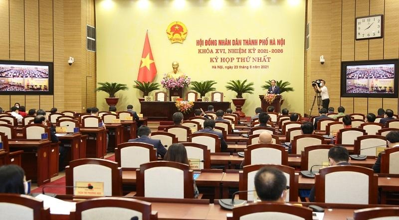 Kỳ họp thứ nhất HĐND TP Hà Nội khóa XVI