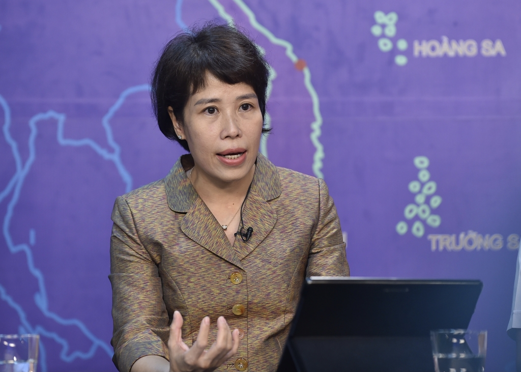 Thứ trưởng Bộ Kế hoạch và Đầu tư Nguyễn Thị Bích Ngọc: Chúng tôi cho rằng những khó khăn, vướng mắc chỉ mang tính nhất thời - Ảnh VGP/Nhật Bắc