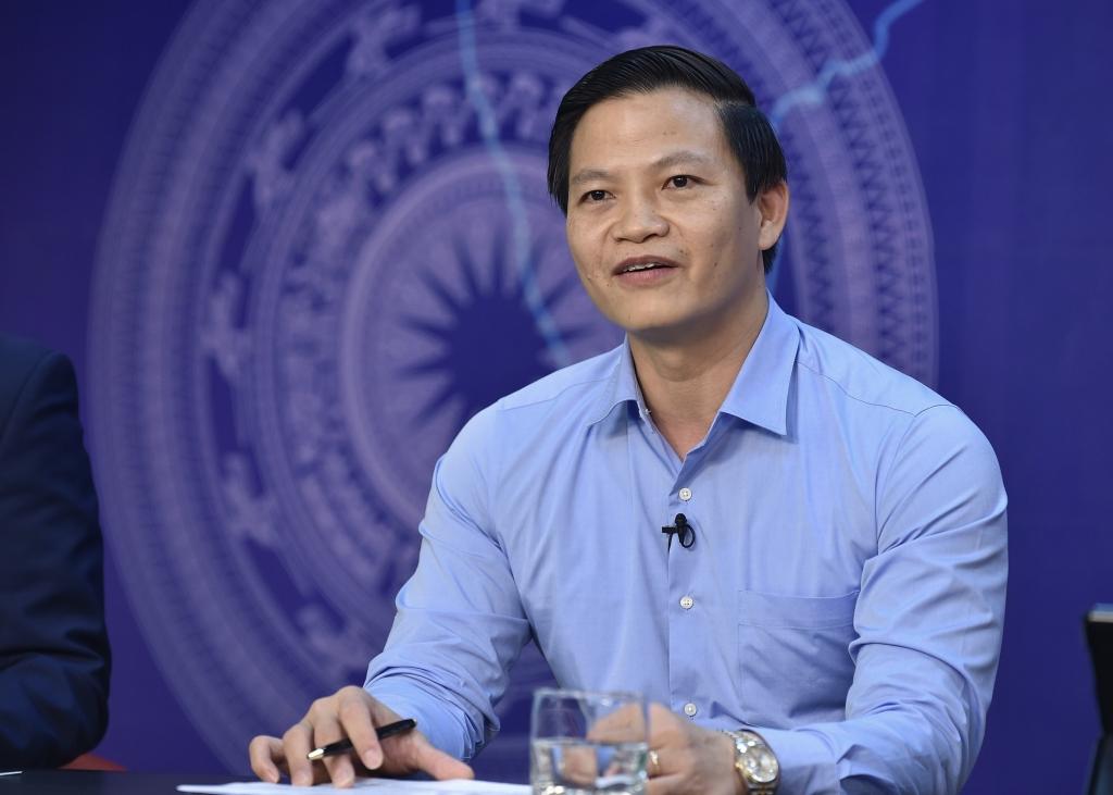 Phó Chủ tịch UBND tỉnh Bắc Ninh Vương Quốc Tuấn: Bắc Ninh là địa phương cởi mở thu hút FDI - Ảnh VGP/Nhật Bắc