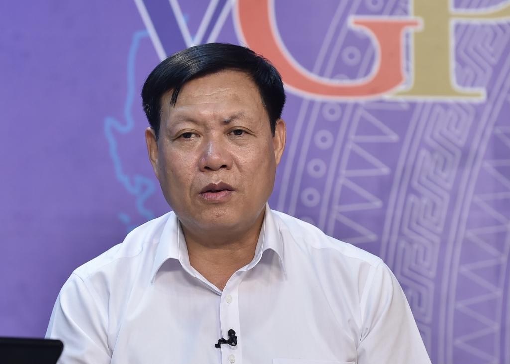 Thứ trưởng Bộ Y tế Đỗ Xuân Tuyên: Các địa phương phải rà soát các phương án sản xuất của từng doanh nghiệp trên địa bàn - Ảnh VGP/Nhật Bắc