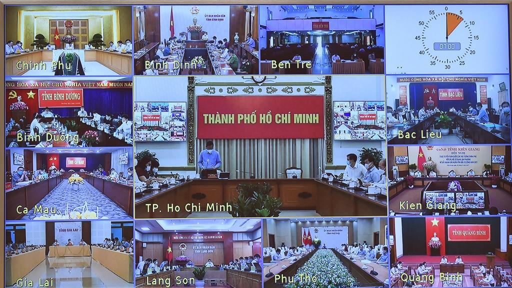 Lãnh đạo các địa phương phát biểu tại Hội nghị - Ảnh: VGP/Nhật Bắc