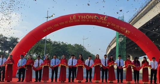 Hà Nội thông xe đường vành đai 3 dưới thấp, đoạn Mai Dịch – Cầu Thăng Long
