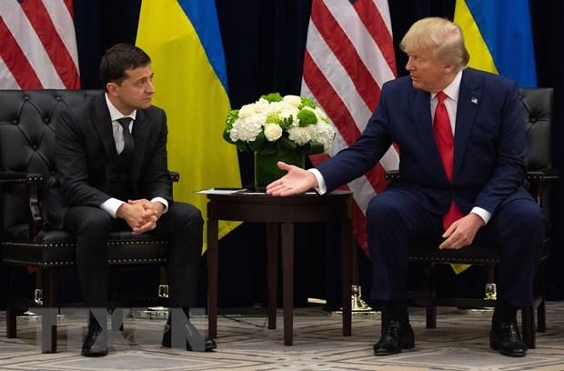 tong thong ukraine khang dinh khong bi nguoi dong cap my ham doa