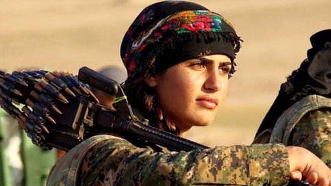 ve dep cua nhung co gai nguoi kurd khien nguoi xem nao long