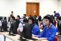 Học sinh, sinh viên thi Olympic tiếng Anh chinh phục IELTS