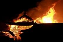 Lửa thiêu rụi di sản thế giới 600 tuổi ở Nhật Bản