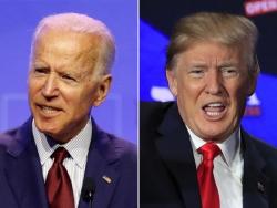 """Bầu cử Mỹ: Trump bị Biden bỏ xa giữa thời điểm """"nước sôi lửa bỏng"""""""