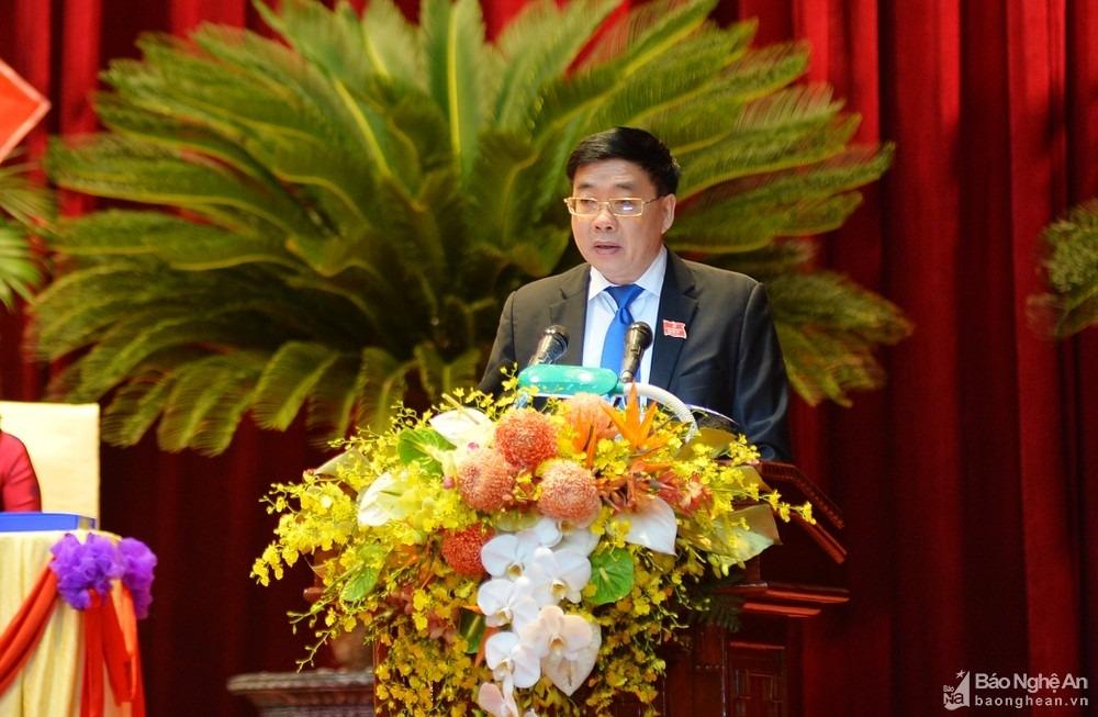 Chính thức khai mạc Đại hội đại biểu Đảng bộ tỉnh Nghệ An lần thứ XIX, nhiệm kỳ 2020   2025