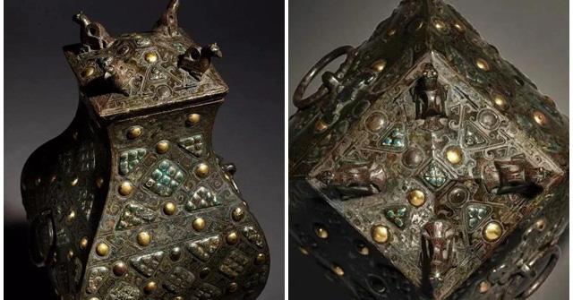 Gây chấn động thế giới khảo cổ: Chiếc bình vuông bằng đồng thời chiến quốc có giá triệu đô