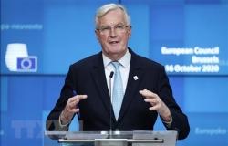 Anh-EU nối lại đàm phán nhằm đạt được thỏa thuận thương mại