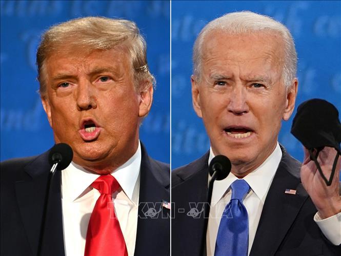 """Chủ đề dịch COVID-19 làm """"nóng"""" cuộc tranh luận giữa hai ứng cử viên tổng thống Mỹ"""