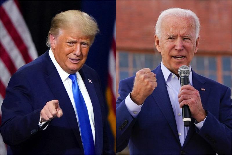 """Tổng thống Trump bỏ phiếu sớm, ông Biden cảnh báo """"mùa đông đen tối"""" ở Mỹ"""