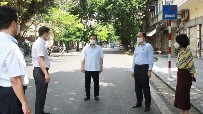 Thực hiện khẩn trương, đồng bộ các biện pháp truy vết, phong tỏa, cách ly tại Bệnh viện Việt Đức
