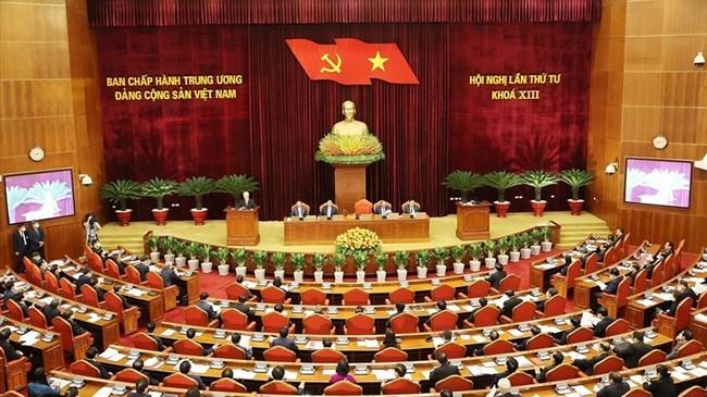 Hội nghị lần thứ tư Ban Chấp hành Trung ương khoá XIII.