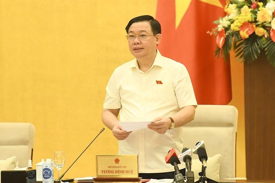 Chủ tịch Quốc hội Vương Đình Huệ cho ý kiến về việc chuẩn bị kỳ họp thứ 2, Quốc hội khoá XV.