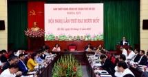 Phát biểu kết luận của Bí thư Thành ủy Hoàng Trung Hải tại Hội nghị Thành ủy lần thứ 21