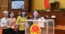 Giới thiệu đại biểu Hoàng Thanh Tùng để bầu vào Uỷ ban Thường vụ Quốc hội