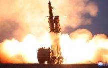 Quốc tế phản ứng việc Triều Tiên thử tên lửa từ bệ phóng siêu lớn