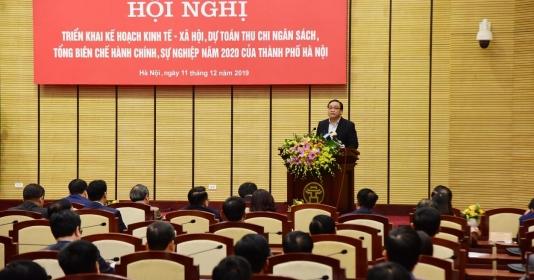 Hà Nội triển khai kế hoạch kinh tế -  xã hội, thu chi ngân sách năm 2020