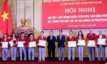 Gặp mặt, biểu dương các HLV, VĐV Hà Nội đạt thành tích xuất sắc sau Sea Games 30