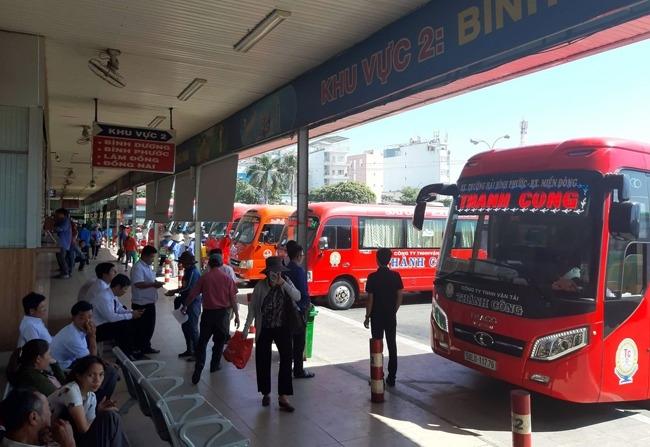 tang cuong 2200 xe khach phuc vu nhu cau di lai dip tet 2020