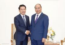 Thủ tướng đề nghị Chính phủ Lào tháo gỡ khó khăn cho các doanh nghiệp Việt Nam