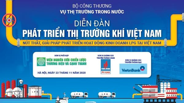 Diễn đàn phát triển thị trường khí Việt Nam