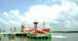 KVT phối hợp diễn tập an ninh cảng biển, ứng phó sự cố tràn dầu