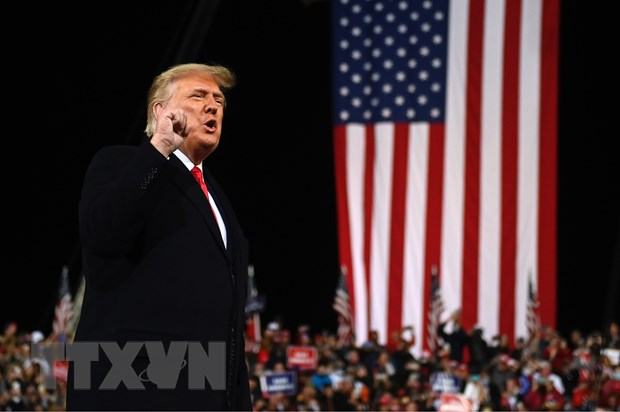 Tổng thống Mỹ tham gia sự kiện chính trị đầu tiên sau bầu cử