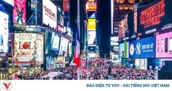 New York (Mỹ) trang hoàng Quả cầu pha lê đón năm mới trong hy vọng
