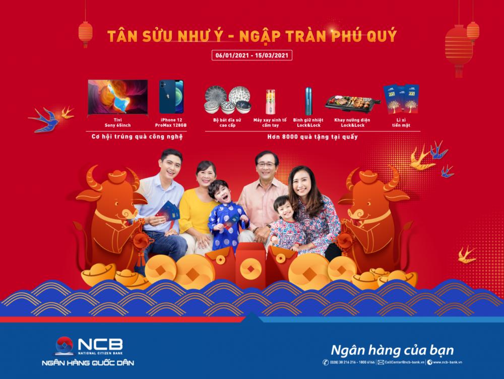 """""""Tân Sửu Như Ý – Ngập Tràn Phú Quý"""" với NCB"""